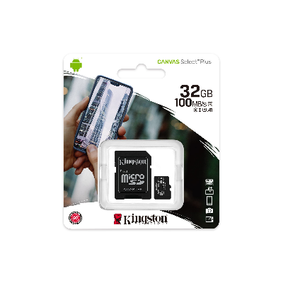 MEMORIA MICRO SD 32GB KINGSTON C10 CANVAS PLUS
