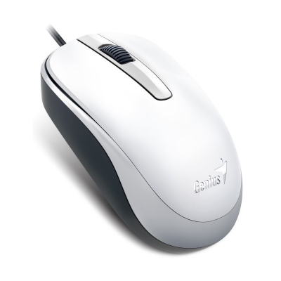 MOUSE GENIUS DX-110 USB WHITE