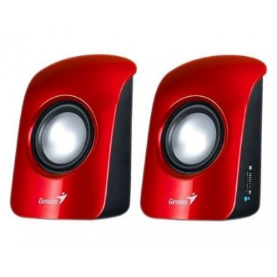 PARLANTES GENIUS SP-U115 RED - USB