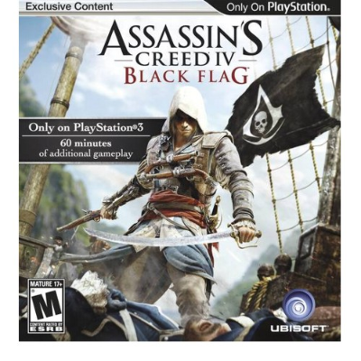 PS3 JUEGO - ASSASINS CREED 4 BLACK FLAG