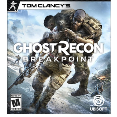 PS4 JUEGO - TOM CLANCYS GHOST RECON BREAKPOINT