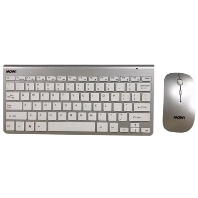 TECLADO + MOUSE MOW WC-SLIM WIRELESS