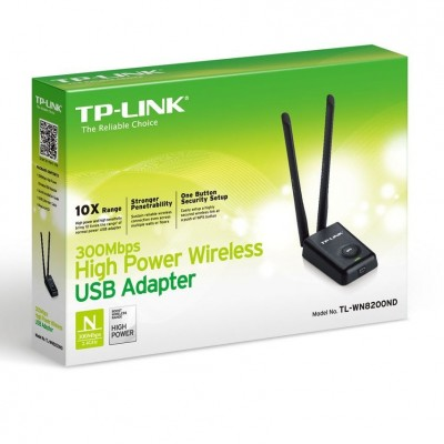 RED WIRELESS TP-LINK USB TL-WN8200ND HIPOWER